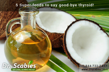 5 Super-Foods to Say Good-Bye Thyroid!