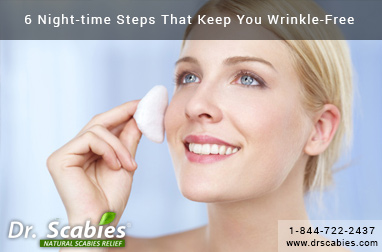 6 Night-time Steps That Keep You Wrinkle-Free