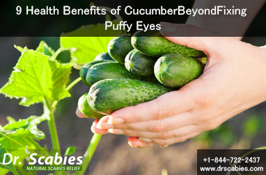 9 Health Benefits of Cucumber Beyond Fixing Puffy Eyes