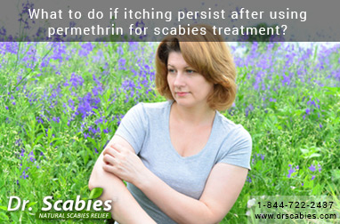 What To Do If Itching Persist After Using Permethrin For Scabies Treatment?