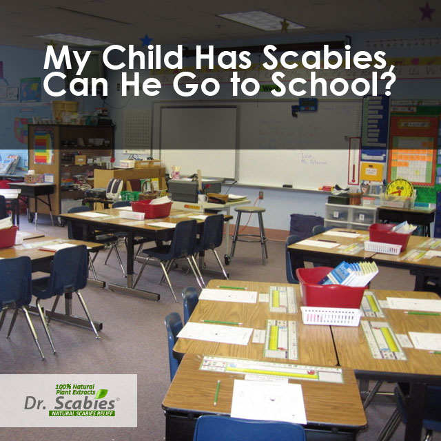 scabies treatment for school children